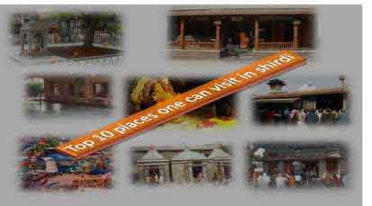 Top 10 places one can visit in Shirdi