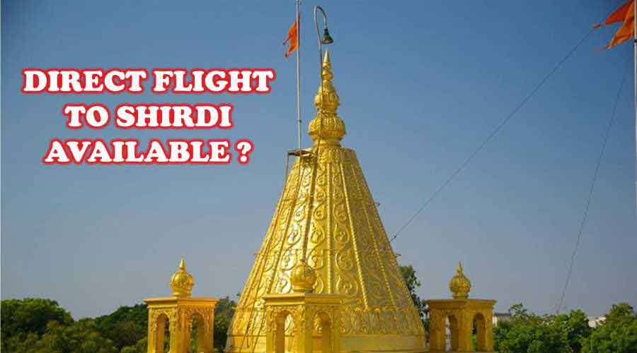 Is Direct flight to shirdi from Bangalore Available?